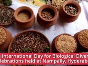 Hyderabad: 26th International Day for Biological Diversity celebrations at Nampally