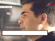 I am not taking any break, confirms Karan Johar