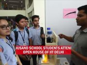 IIT Delhi showcases its best inventions to school students