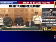 Imran Khan takes oath as Pakistan's 22nd Prime Minister
