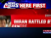 IMRAN RATTLED BY CENTRE'S POK WARNING