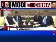 In a historic visit to China, PM Modi meets Xi Jinping