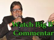 Ind vs Pak WC 2015 WC: Big B on his commentary