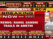 Indian General Election Results: Now, Rahul Gandhi leads Smriti Irani by a small margin