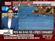 Indian girl drowns in Australia while playing at the beach
