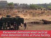 Indo-African military exercise: Tactical mine detection drills held in Pune