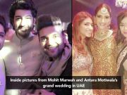 Inside pictures from Mohit Marwah and Antara Motiwala's grand wedding in UAE