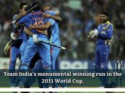 Inside story: How India won 2011 ICC Cricket World Cup