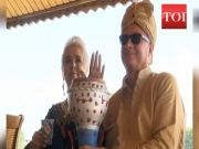 Inspired by Kashmiri culture, Poland couple remarries in Srinagar