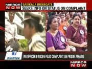 IPS D Roopa files RTI on prison affairs complaint