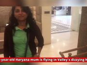 J&K: 49-year-old Haryana mum is flying in Valley's dizzying heights