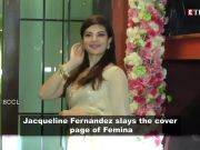 Jacqueline Fernandez looks ravishing on Femina's latest edition
