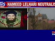 Jammu and Kashmir: Abdul Hamid Lelhari, Zakir Musa's successor, killed in Awantipora encounter