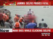 Jammu: Man drowns in Chenab river while taking selfie
