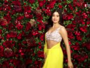 Janhvi Kapoor gets trolled for shimmery dress, called out for plagiarism