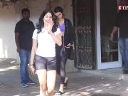 Janhvi Kapoor shows off her killer belly dance moves in this latest video