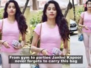 Janhvi Kapoor's obsession over this bag is unmissable
