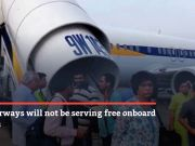 Jet Airways to stop free meals on domestic flights from September 28