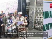 Kailash Mansarovar Yatra: 1st batch of pilgrims cross Nathula border