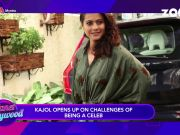 Kajol says it's challenging to be a celebrity