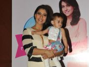 Kajol spends her day with mothers