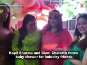 Kapil Sharma and Ginni Chatrath throw baby shower for industry friends