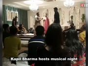 Kapil Sharma hosts musical night with wife Ginni Chatrath at his residence