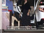 Kareena Kapoor and Saif Ali Khan host family dinner on their sevent wedding anniversary, Karisma Kapoor shares pictures