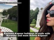 Kareena Kapoor Khan experiences village life in England with mom Babita Kapoor and sister Karisma Kapoor