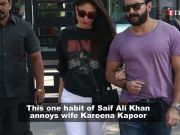 Kareena Kapoor Khan reveals the most annoying thing about husband Saif Ali Khan!