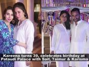 Kareena Kapoor Khan's birthday bash pictures and videos at Pataudi Palace are too cute to miss!