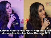 Kareena Kapoor reacts to rumours about her joining politics