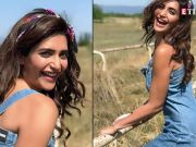 Karishma Tanna's washboard abs in these pictures are all about fitness goals!