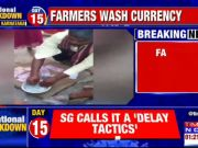 Karnataka: Farmers wash currency notes in water, fearing Covid-19 transmission