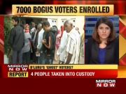 Karnataka polls: 7,000 fake names added to voter list, 4 people taken into custody