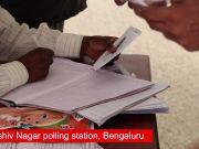 Karnataka polls: Voting underway at Bengaluru's Sadashiv Nagar polling station