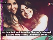 Katrina Kaif brings in Christmas cheer with 'Zero' co-star Anushka Sharma