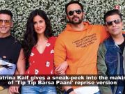 Katrina Kaif shares a BTS video while shooting for 'Sooryavanshi' with co-star Akshay Kumar