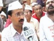 Kejriwal detained during protest march seeking action against Khurshid