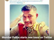 #KhakiTwitter: Mumbai Police's khaki takes over #SareeTwitter
