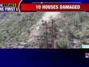 Landslide damages about 10 houses in J&K's Doda