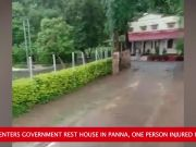 Leopard enters govt rest house in MP's Panna, 1 injured