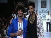 LFW Purab Kohli turns showstopper for Lalit Sengar
