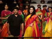 LFW : Taapsee Pannu turns showstopper for Gaurang Shah
