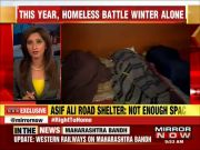 Limited space, missing facilities in Delhi's night shelters