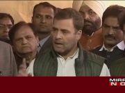 Loan waiver: Rahul Gandhi targets Centre, slams PM Narendra Modi