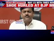 Lok Sabha election: Shoe hurled at BJP MP GVL Narasimha Rao at party headquarters