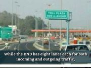 Lok Sabha polls: Delhi-Noida traffic can use only four DND lanes from today