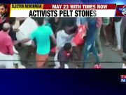 Lok Sabha polls: LDF-UDF activists clash during Shashi Tharoor's roadshow
