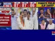 Maharashtra, Haryana elections results: BJP party workers all set to celebrate victory with sweets